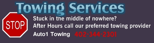 Towing Service in Omaha
